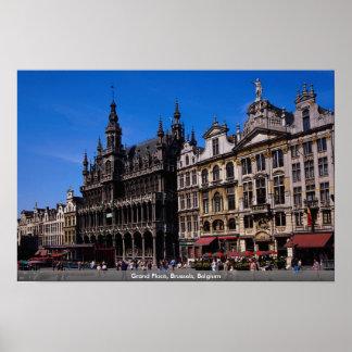 Lugar magnífico, Bruselas, Bélgica Posters