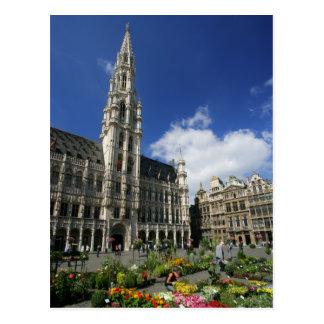 lugar magnífico, Bruselas Bélgica Postales