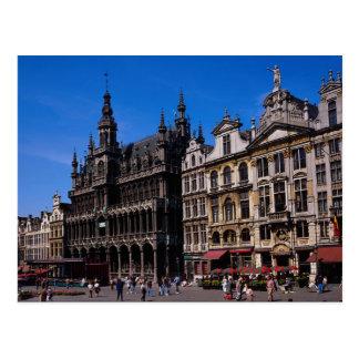 Lugar magnífico, Bruselas, Bélgica Tarjetas Postales