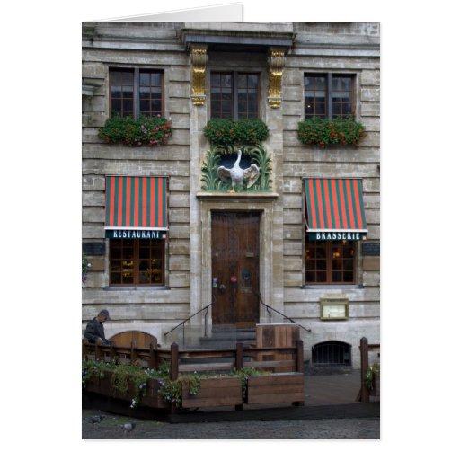 Lugar magnífico, Bruselas Tarjeta De Felicitación