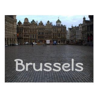 Lugar magnífico, Bruselas Tarjeta Postal