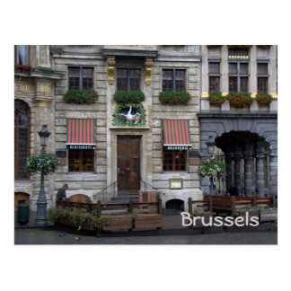 Lugar magnífico, Bruselas Tarjetas Postales