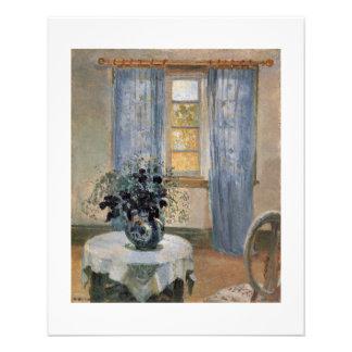 Lugar pacífico del sitio hermoso de Ana Ancher Flyer A Todo Color