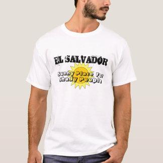 Lugar soleado, para, gente sombría, EL SALVADOR Playera