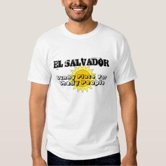 Lugar soleado, para, gente sombría, EL SALVADOR Remeras