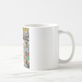 Lugares del pi taza básica blanca