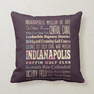 Lugares famosos de Indianapolis, Indiana Almohada