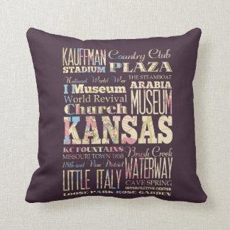 Lugares famosos de Kansas, Estados Unidos. Cojín