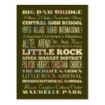 Lugares famosos de Little Rock, Arkansas Postal