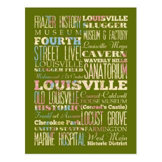 Lugares famosos de Louisville, Kentucky Postal