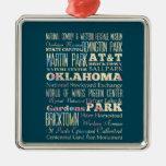 Lugares famosos de Oklahoma, Estados Unidos. Adorno