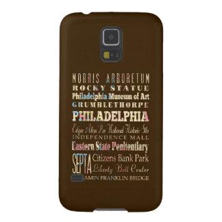 Lugares famosos de Philadelphia, Pennsylvania Carcasa De Galaxy S5