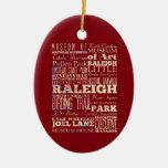 Lugares famosos de Raleigh, Carolina del Norte. Ornamente De Reyes