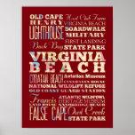 Lugares famosos de Virginia Beach, Virginia Impresiones