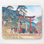 Lugares famosos del paisaje de Kyoto - de Fushimi  Alfombrillas De Raton