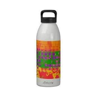 Lugares geométricos botella de beber