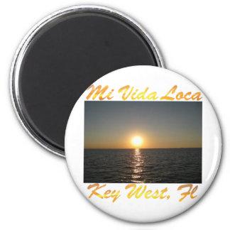 Lugares geométricos Key West la Florida #013 del M Imán Redondo 5 Cm