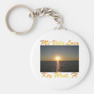 Lugares geométricos Key West la Florida #013 del M Llaveros Personalizados