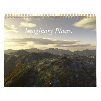 Lugares imaginarios. 2011 Calander. Calendarios De Pared