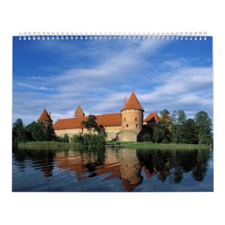 Lugares impresionantes del mundo calendarios de pared
