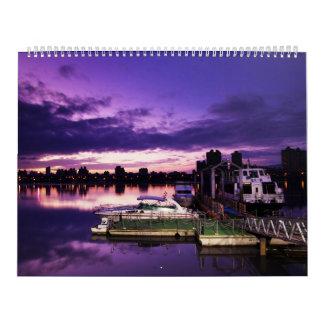 Lugares impresionantes del mundo calendario