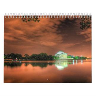 Lugares impresionantes y Lanscapes del mundo Calendario