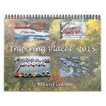 Lugares inspiradores 2015 calendarios