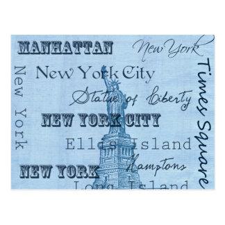 Lugares Nueva York Tarjetas Postales