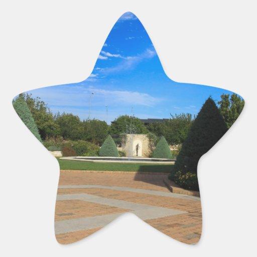 Lugares Pegatina En Forma De Estrella