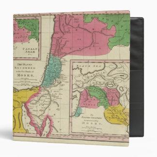 """Lugares registrados en los cinco libros de Moses Carpeta 1 1/2"""""""