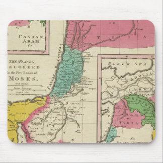 Lugares registrados en los cinco libros de Moses Mouse Pad
