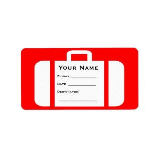 Luggage Baggage Reclaim Suitcase Label at Zazzle