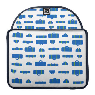 Luggage Blue Sleeve For MacBooks