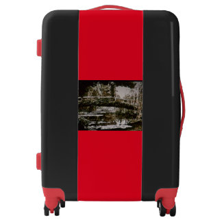 LUGGAGE, CARRY ON - AN OPENING LUGGAGE