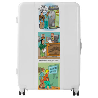 Luggage For Lawyers With Funny Cartoons