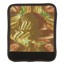 Luggage Handle Wrap Abstract Copper Gold Foundry