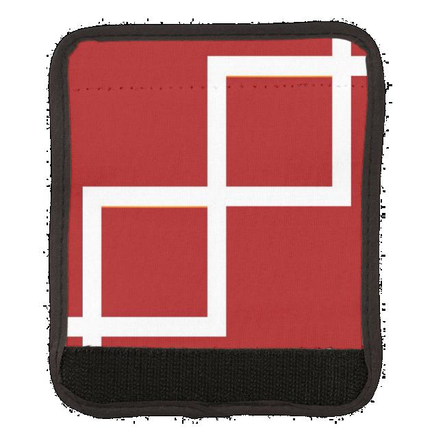 Luggage Handle Wrap Abstract Steps Angles ART
