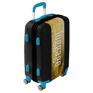 Luggage Horizontal Fill Template