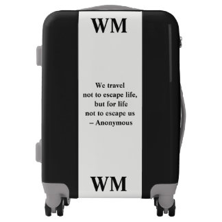 Luggage - Personalized with Initials