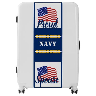 Luggage Suitcase (Navy Spouse)