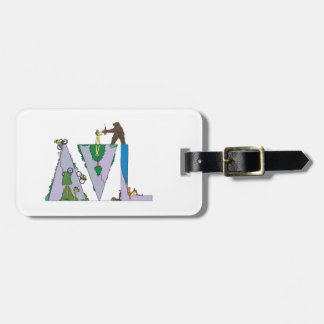 Luggage Tag   ASHEVILLE, NC (AVL)