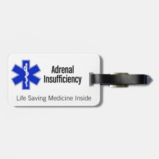 Luggage Tag: Ask me about Life-Saving Steroids Luggage Tag