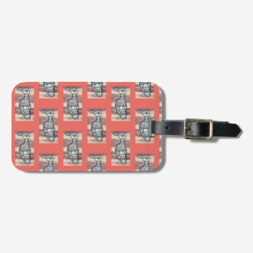 Professional Business Luggage Tag, auk, business card slot Bag Tag