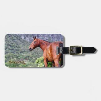 Luggage Tag, bag tag, equestrian, horse tag