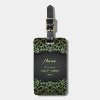 Luggage Tag Baroque Style Inspiration
