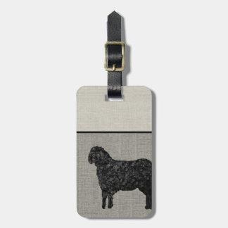 Luggage Tag - Black Sheep