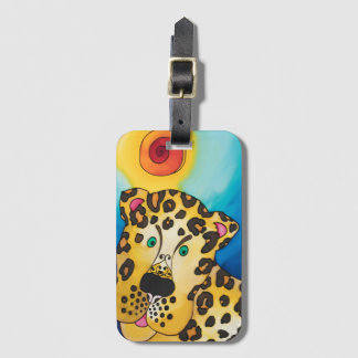 Luggage Tag / Business Card Slot: Leopard Series