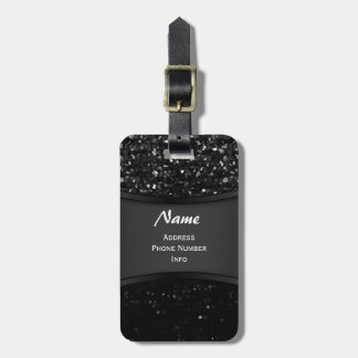 Luggage Tag Crystal Bling Strass
