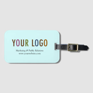 Luggage Tag for Business Card Custom Logo Branded