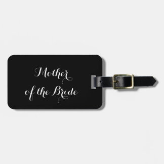 Luggage tag for Mother of the Bride